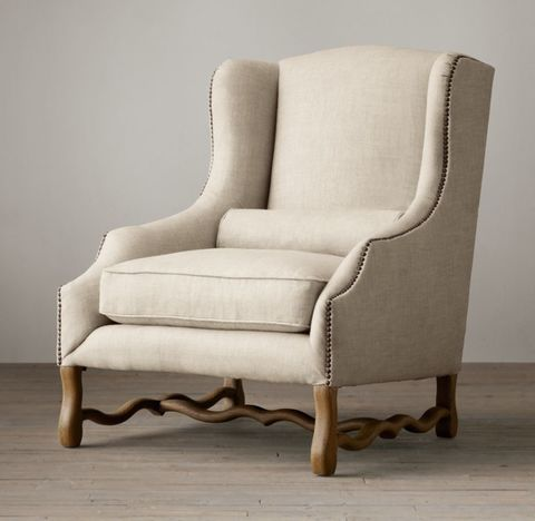 17th C. French Wingback Chair