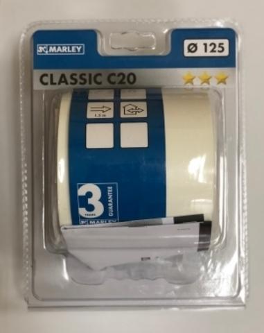 Канальный вентилятор Marley MC 125 E (Classic C20)