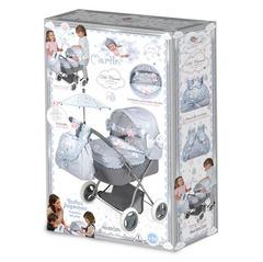 DeCuevas Коляска для куклы с сумкой и зонтиком серии Мартин, 60 см (85029)