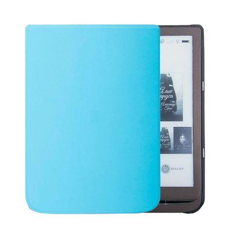 Чехол - обложка для PocketBook 740 голубая