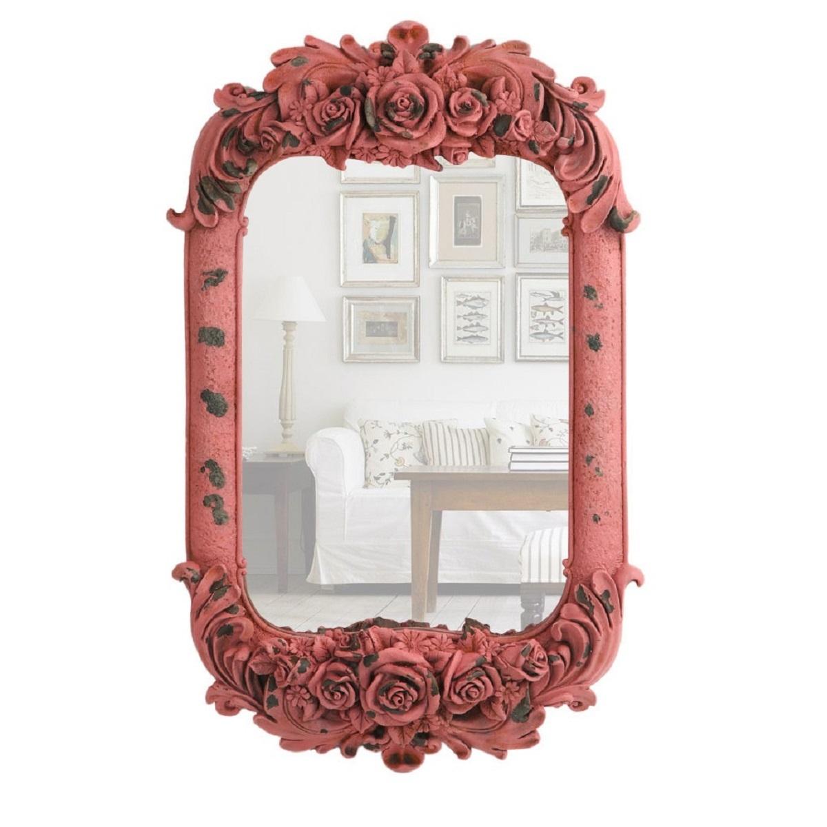 Зеркала Зеркало настенное Decor розовое 85103AP zerkalo-nastennoe-decor-rozovoe-85103ap-kitay.jpg