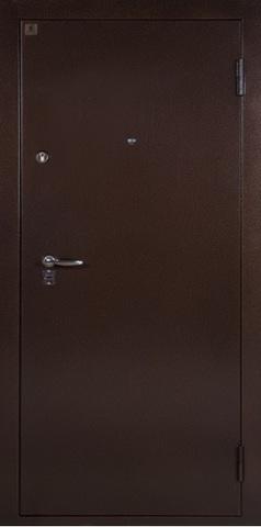 Дверь входная Т-5 Hi-Nech (гардин/код) стальная, венге, 2 замка, фабрика Ретвизан