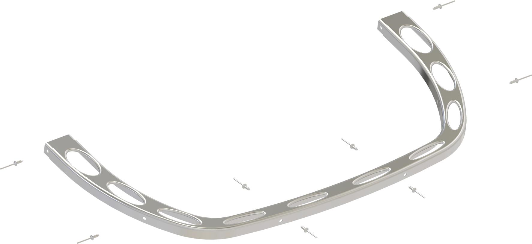 Для печей: Передняя часть верхнего ободка SAWO НР02-002 для печей SCA/SAV lacywear s 7 sav