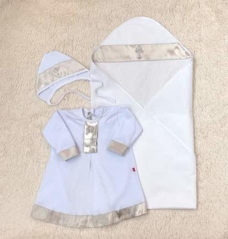 Крестильный набор для малыша Великолепие золото