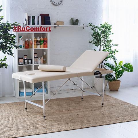 Косметологическая кушетка (190х70x65-85 см) Comfort LUX 190P
