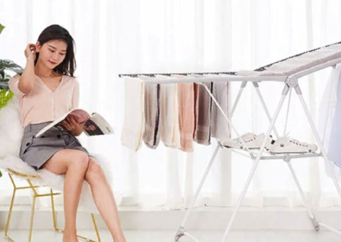 Сушилка для белья Xiaomi Mr. Bond Parallel Folding Drying Rack A11
