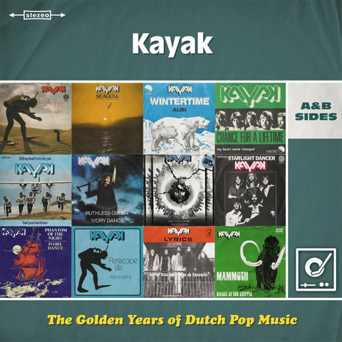 Kayak / The Golden Years Of Dutch Pop Music (A&B Sides)(2LP)
