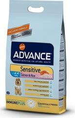 Корм для взрослых собак средних и крупных пород, Advance Sensitive, с лососем и рисом