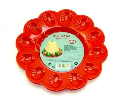 Тарелка для Пасхального кулича и яиц малая