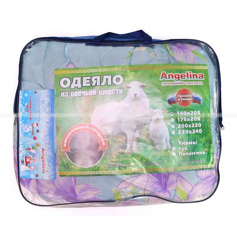 Одеяло овечья шерсть АП23-КП44