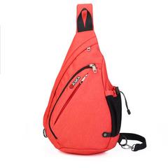 Рюкзак однолямочный повседневный КАКА 99001 красный