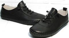 Кроссовки без шнурков женские Evromoda 115 Black