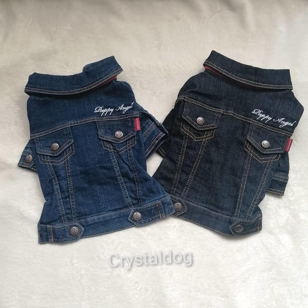 джинсовые куртки для собак
