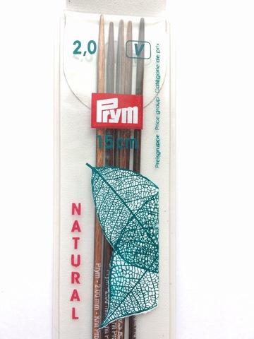 Чулочные спицы Prym Knitpro 15 см 2 мм