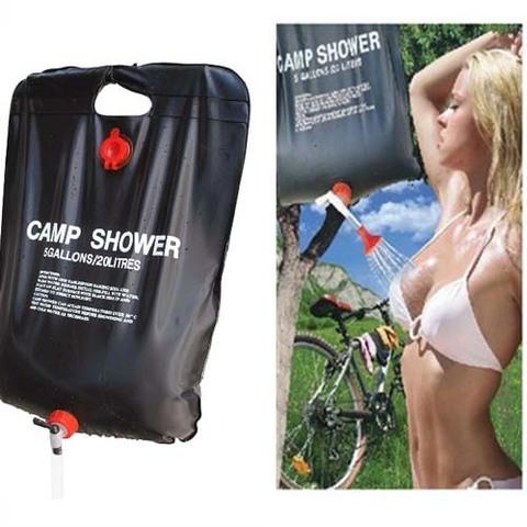 Универсальный, легкий и компактный летний душ, который пригодится н...