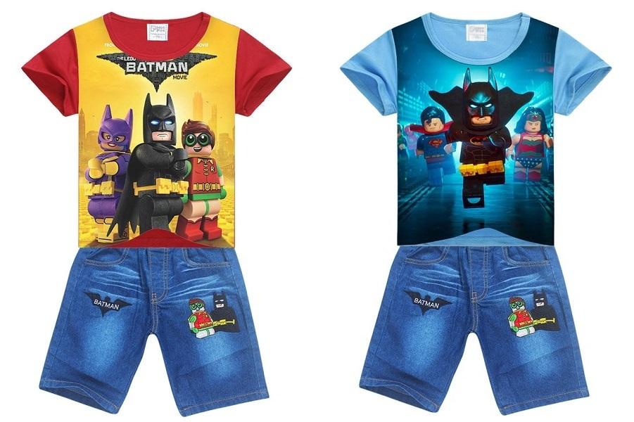 Лего Бэтмен комплект детский футболка и шорты
