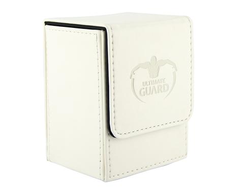 Ultimate Guard - Белая кожаная коробочка на 100+ карт для Коммандера