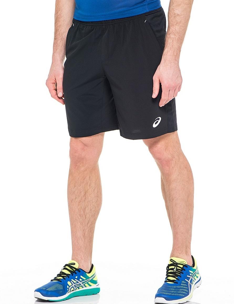 Мужские шорты Asics Club Woven Short 9inch (122767 0904) черные фото