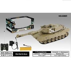 Радиоуправляемый танк для танкового боя Zegan USA M1A2 27 Mhz - ZEG-33801