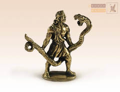 зодиак Змееносец (13 знак зодиака) на янтаре
