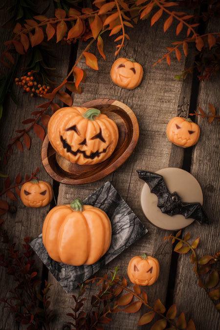 Мыло к Хэллоуину - тыквы