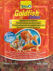 Tetra Goldfish Сolour хлопья пакет золотые рыбки