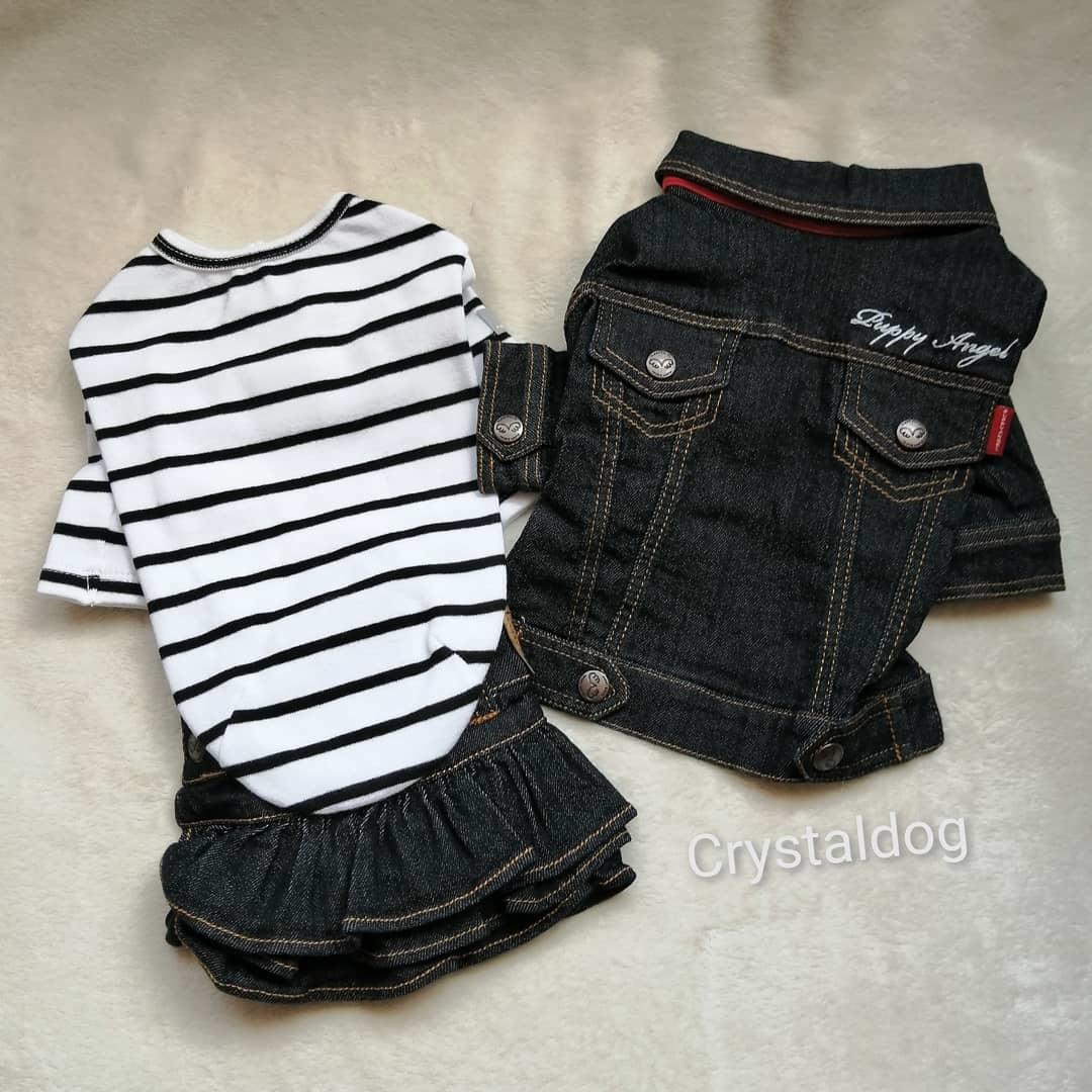 джинсовая одежда для собак Puppyangel