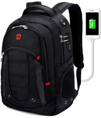 Швейцарский рюкзак CR-9003 c USB и кодовым замком