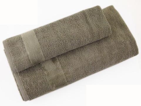Набор полотенец 2 шт Carrara Fyber серый
