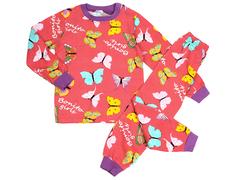 BK580K-5 пижама детская, красная