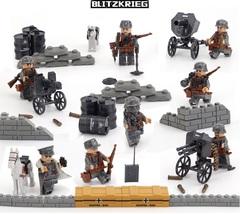 Минифигурки Военных Немецкая Армия серия 153