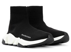 Balenciaga Speed Trainer (Black/White) (008)