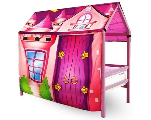 Кровать-домик SVOGEN с игровой накидкой