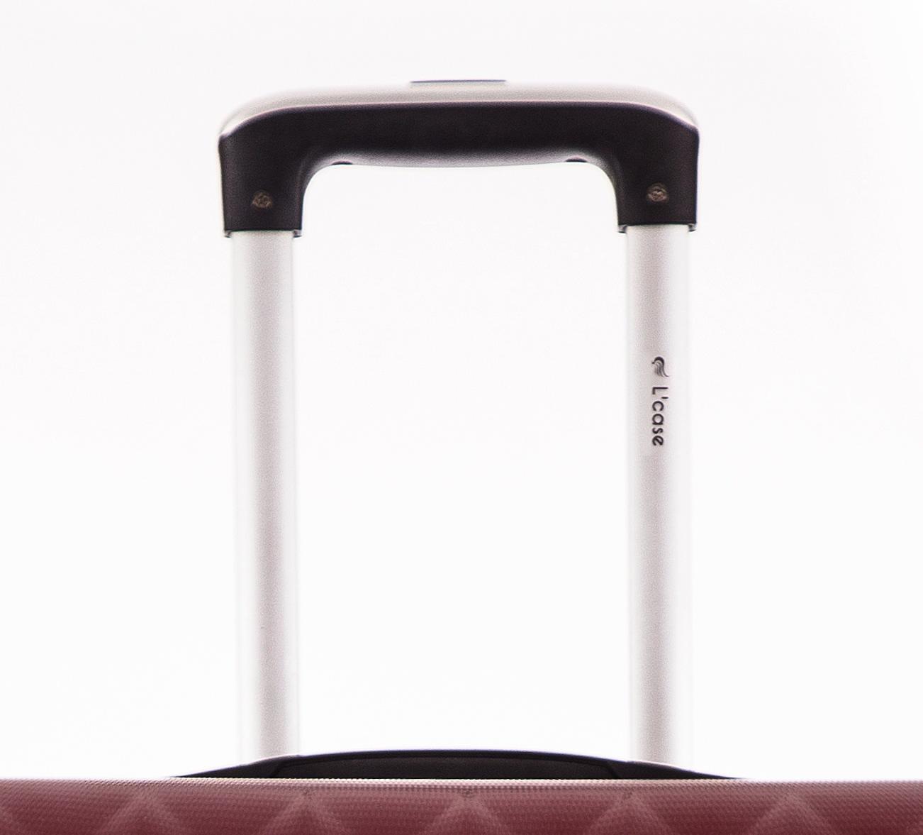 Чемодан со съемными колесами L'case Phatthaya-20 Бордовый ручная кладь (S)