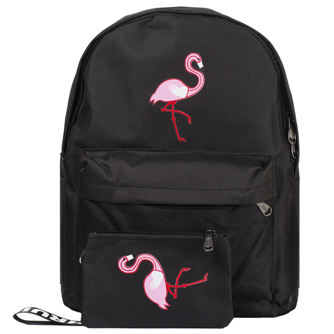 Рюкзак Flamingos Black