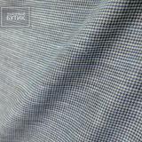 Пестрый серо-голубой лен с шелком