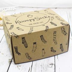 Коробка подарочная от 1 до 4 пар.