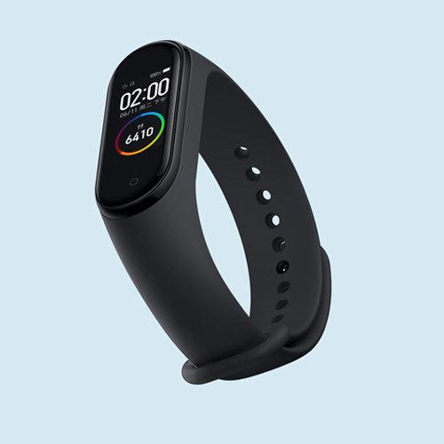 Фитнес-браслет Xiaomi Mi Band 4 (черный) Global RUS