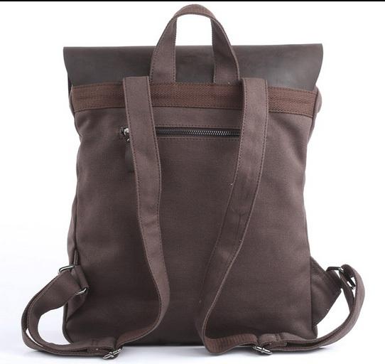 cafe46e4eefb Купить рюкзак в стиле ретро из ткани и кожи A2