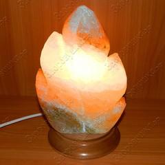 Солевая лампа Лист резной