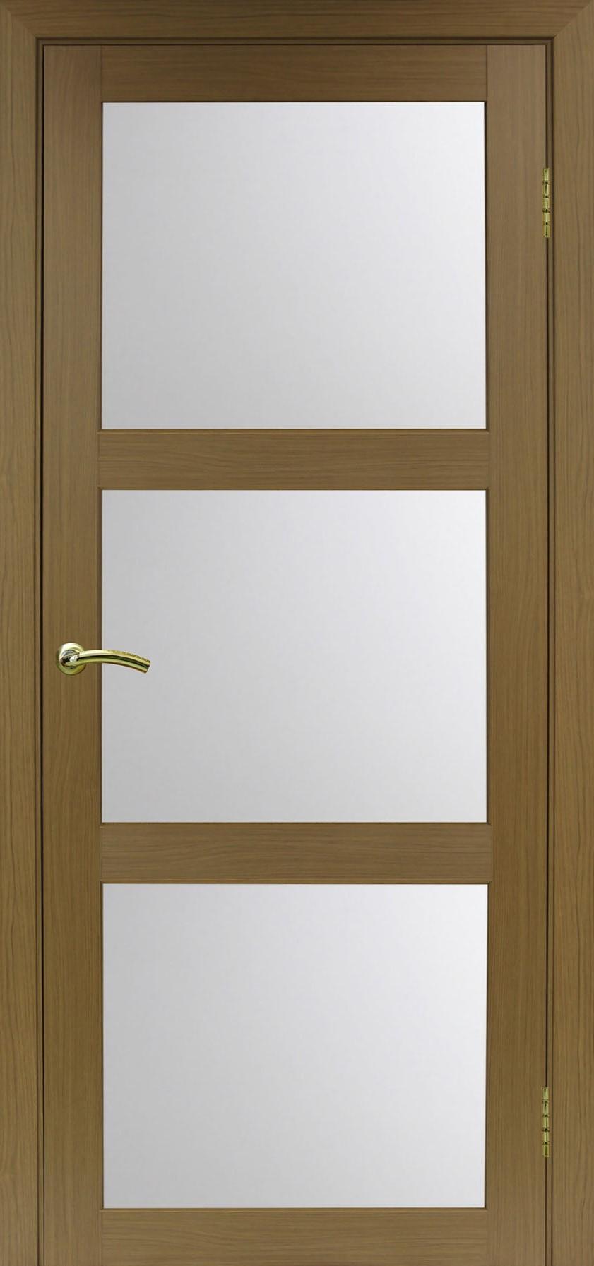 Турин 530 Орех классик NL ЭКО-шпон Остекление №222 Мателюкс, Двери OPTIMA PORTE