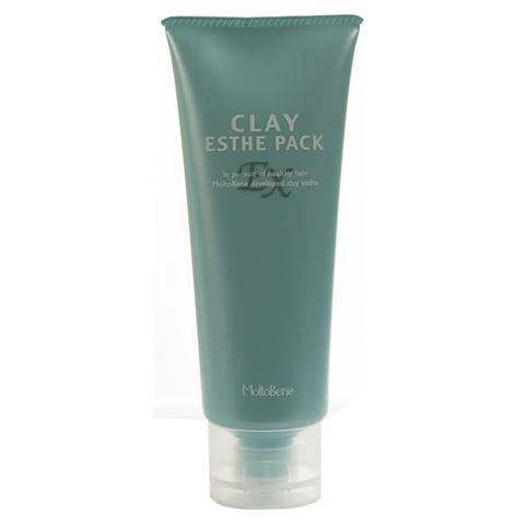 MOLTOBENE Маска Clay Eshte ЕХ против выпадения волос и стимуляции их роста, лечения перхоти, для чувствительной кожи головы