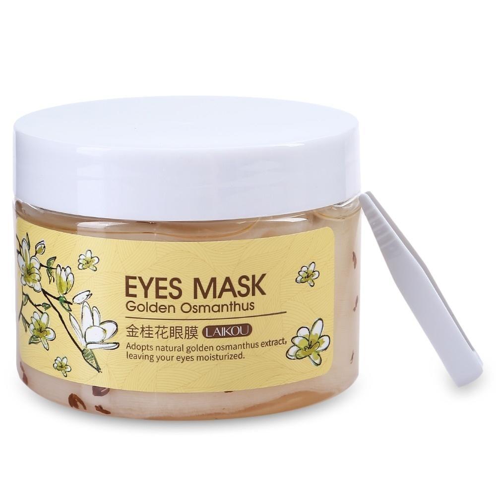 Laikou Маска/Патчи для век с османтусом Eye Mask Golden Osmathus, 80 шт