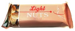 Козинак LIGHT NUTS, Снэк Фуд, миндаль, 40 г.