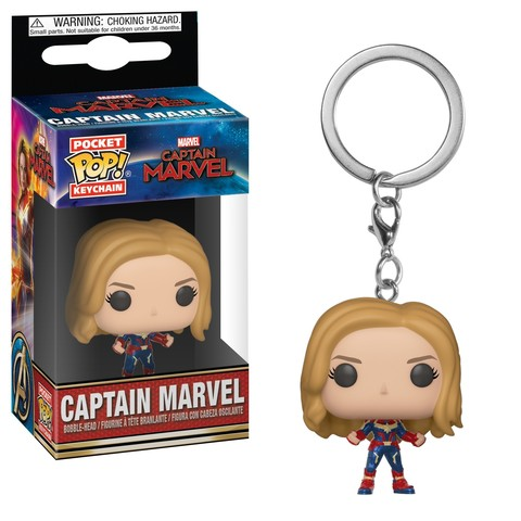 Брелок Funko POP! Keychain: Marvel: Captain Marvel