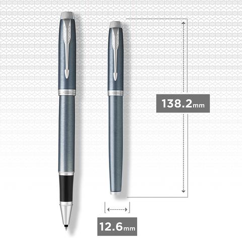 Ручка-роллер Parker IM Core Light Blue Grey CT123