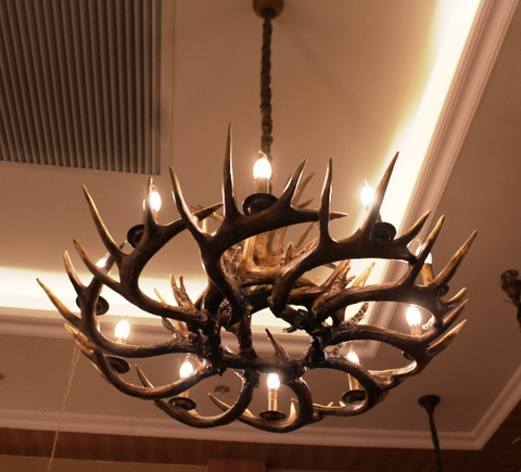 ROLL&HILL Superordinate Antler Chandelier - 3