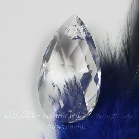 6106 Подвеска Сваровски Капля Crystal (28 мм)