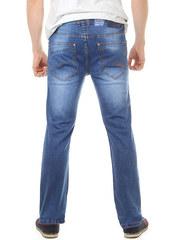 2067 джинсы мужские, синие