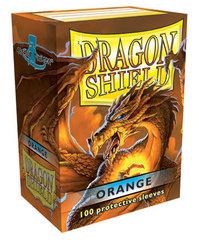 Dragon Shield - Оранжевые протекторы 100 штук